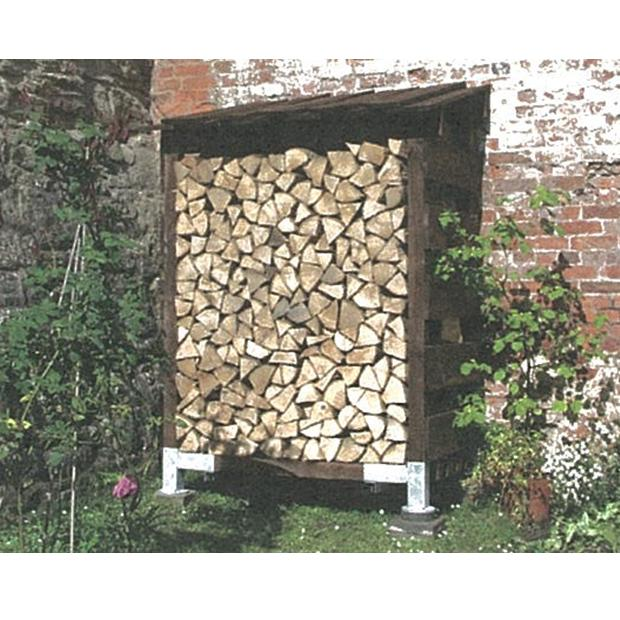Clearview – Compact Single Outdoor Log Store